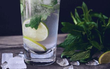 Drink Gelado Refrescante