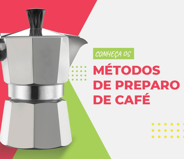 Banner método de preparo de café